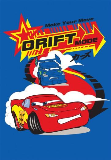 Covor Disney Kids Cars Drift 02, Imprimat Digital