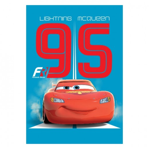 Covor Disney Kids Cars McQueen 020, Imprimat Digital