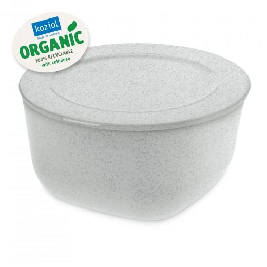 Caserola cu capac, 100% Reciclabil, Connect L Organic Gri, 2 L