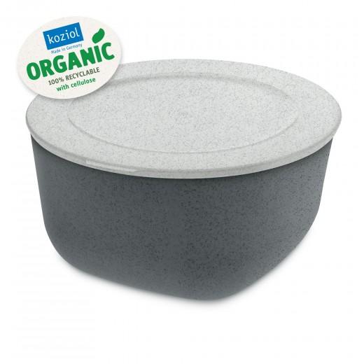 Caserola cu capac, 100% Reciclabil, Connect L Organic Gri inchis, 2 L
