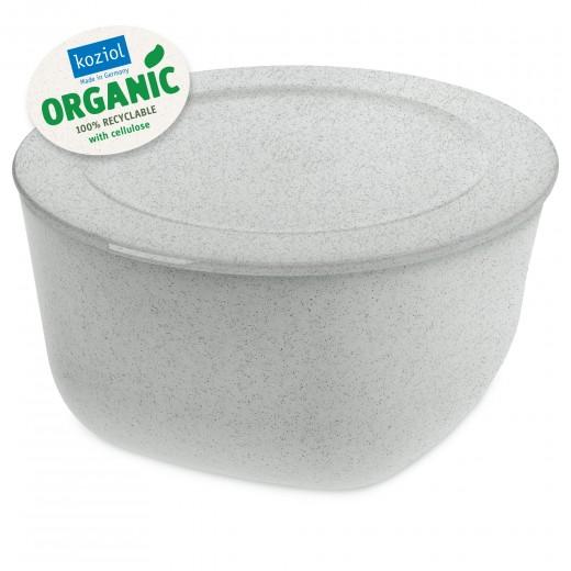 Caserola cu capac, 100% Reciclabil, Connect XL Organic Gri, 4 L