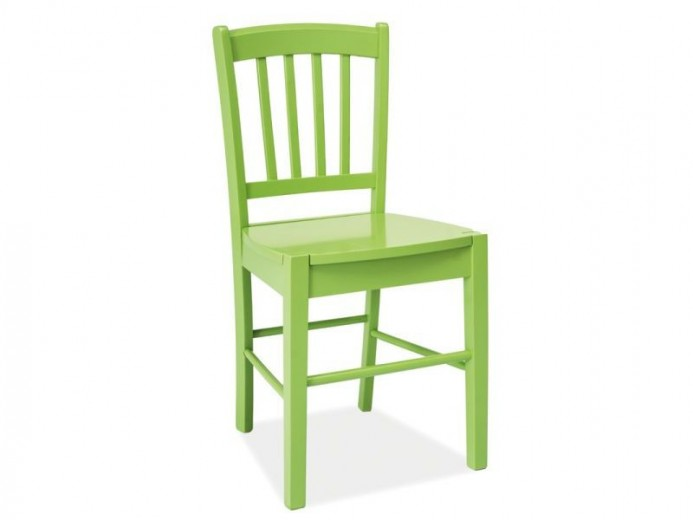 Scaun din lemn CD-57 Green, l40xA36xH85 cm