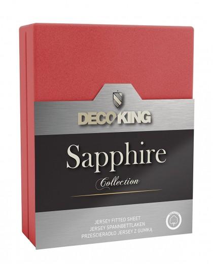 Cearceaf pentru saltea cu elastic Sapphire Red