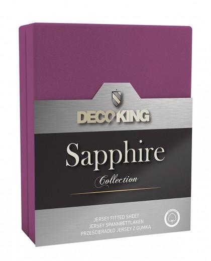 Cearceaf pentru saltea cu elastic Sapphire Violet