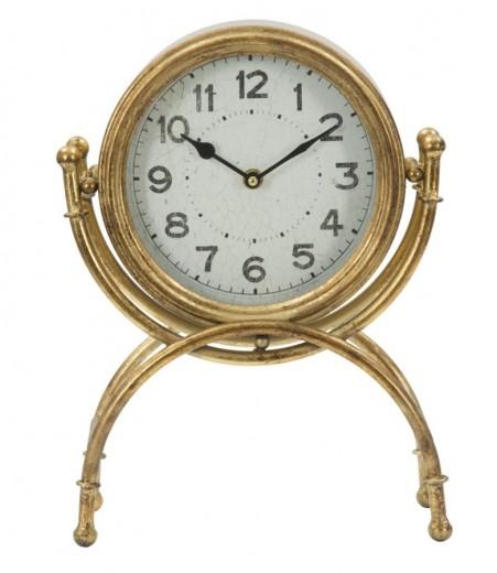 Ceas de masa Glam Bright Gold, l25xA9,7xH33,5 cm