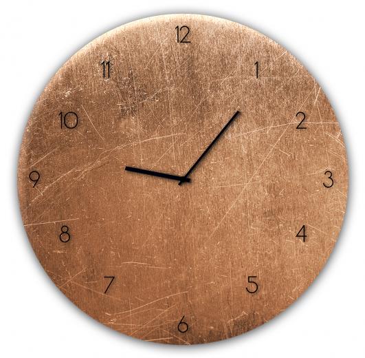 Ceas de perete Copper GC007, Ø 30 cm