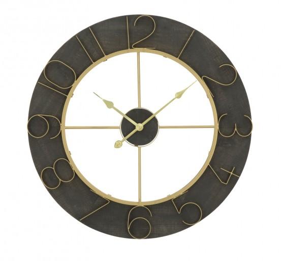 Ceas de perete Dark Glam, Ø 70 cm