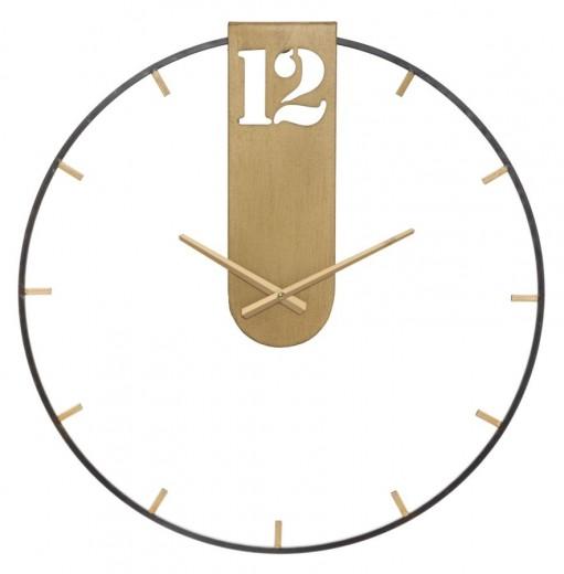 Ceas de perete Goldy Auriu, Ø60 cm