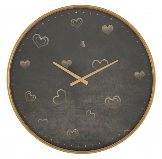 Ceas de perete Hearts Multicolor, Ø60 cm