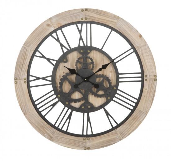 Ceas de perete Ingranat Natural, Ø80 cm
