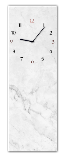 Ceas de perete Marble GC014, 20 x 60 cm