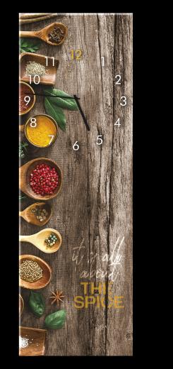 Ceas de perete Spice GC026, 20 x 60 cm