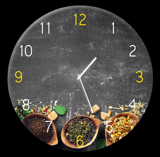 Ceas de perete Tea GC029, Ø 30 cm