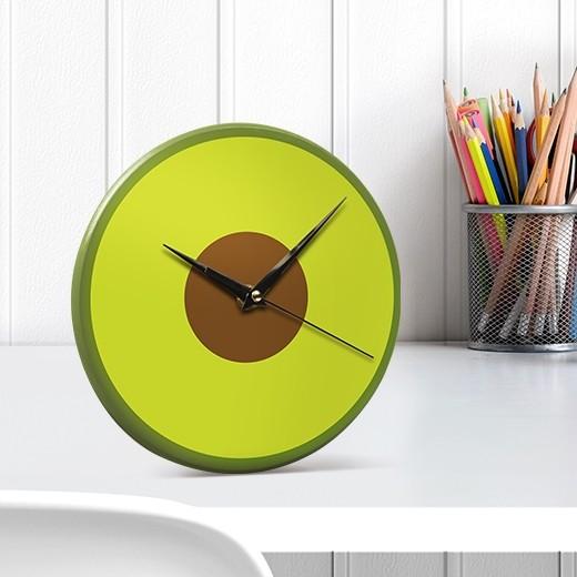 Ceas de birou Avocado, Ø22 cm