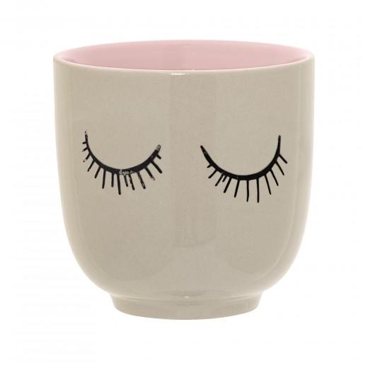 Ceasca Audrey Rose, Ceramica, Ø7xH7 cm