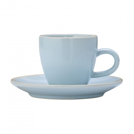 Ceasca si farfurioara Olivia  Blue, Ø6xH5,5 cm