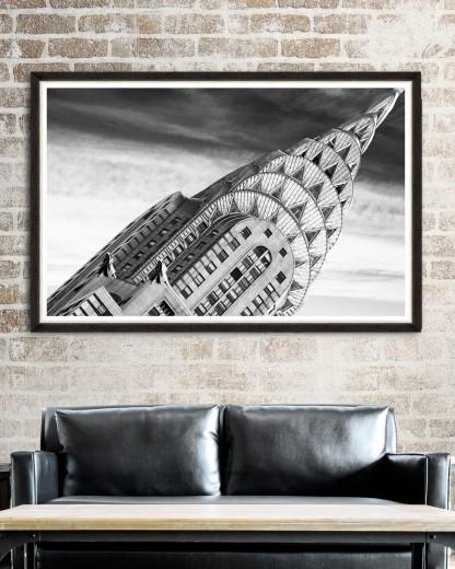 Tablou Framed Art Chrysler Building Detail