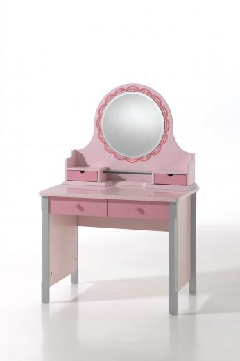 Masuta cu oglinda pentru copii Cindy
