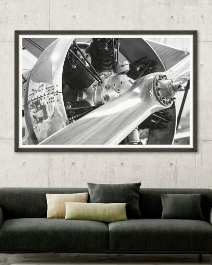 Tablou Framed Art Classic Wood Propeller