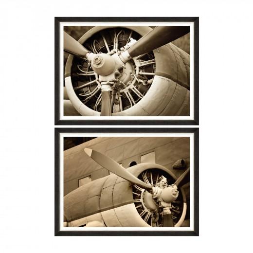Tablou 2 piese Framed Art Classic Propellerheads