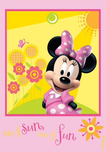 Covor Disney Kids Club House Minnie 22, Imprimat Digital