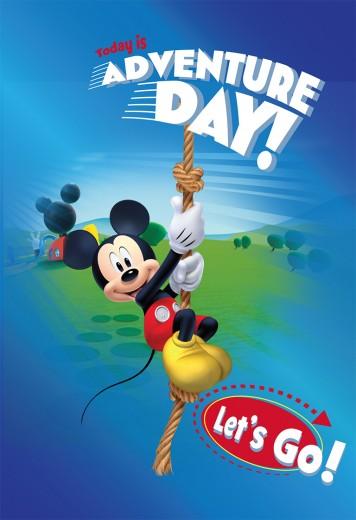 Covor Disney Kids Club House Mickey 36, Imprimat Digital