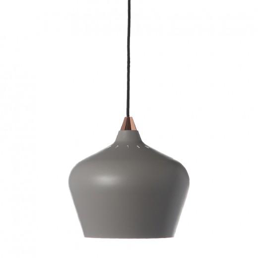 Lustra Cohen Large Grey Matt, Ø 25 cm
