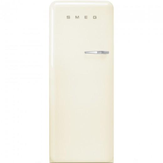 Congelator cu deschidere stanga CVB20LP1, Crem, 60 cm, Retro 50, SMEG