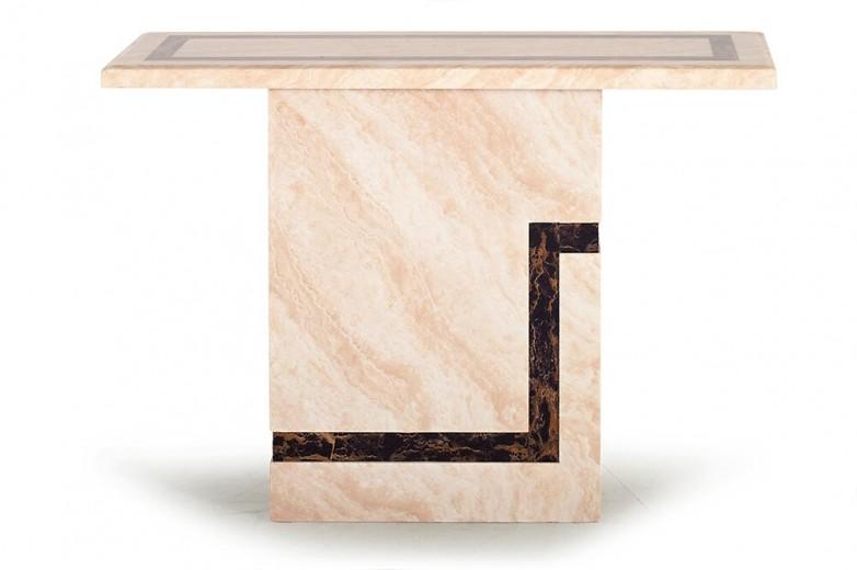 Consola din marmura Filippo Cream, L110xl40xH77 cm