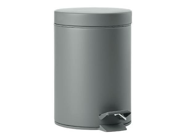 Cos de gunoi pentru baie cu pedala Solo, 3L, Ø17xH25 cm, Zone Denmark