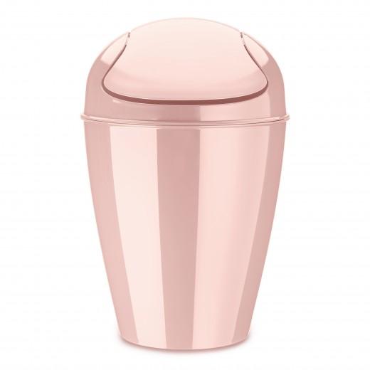Cos multifunctional din termoplastic, Del M Roz, 12L, Ø29xH44,5 cm