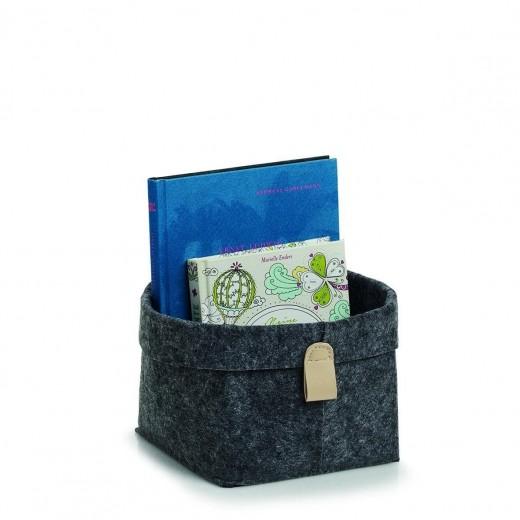 Cos pentru depozitare, Storage Small Antracit, l16xA16xH17 cm