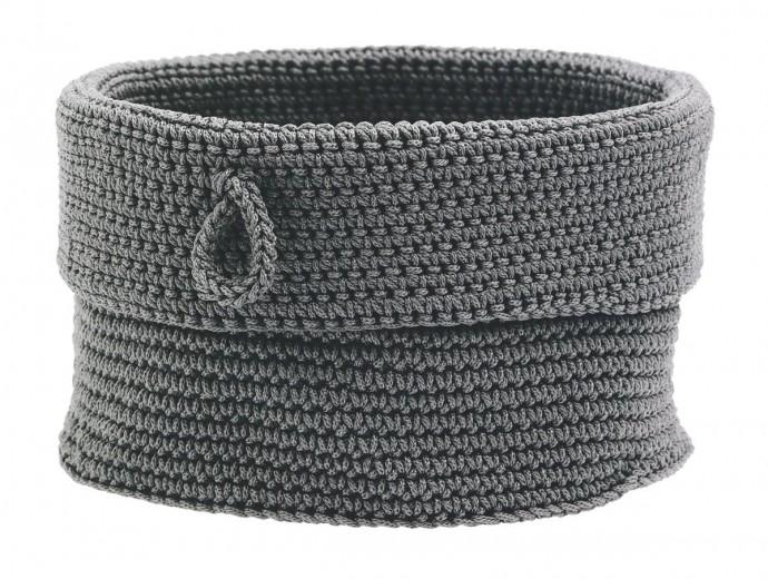 Cos tricotat pentru depozitare Roll, Ø19xH16 cm, Zone Denmark