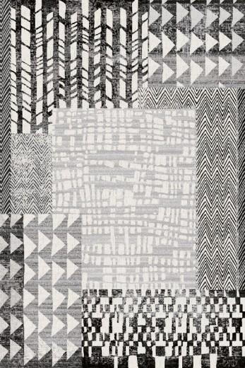 Covor din lana Dodone Light Grey, Wilton