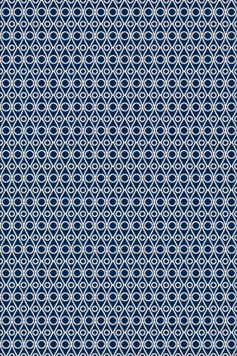Covor din lana Palpe Navy Blue, Wilton
