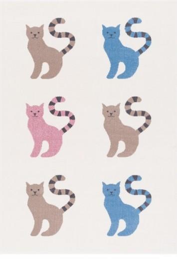 Covor din PP Kitty Multicolour, Wilton