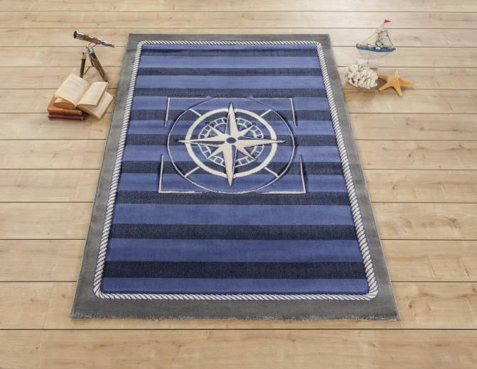 Covor pentru copii Admiral Blue, 133 x 190 cm