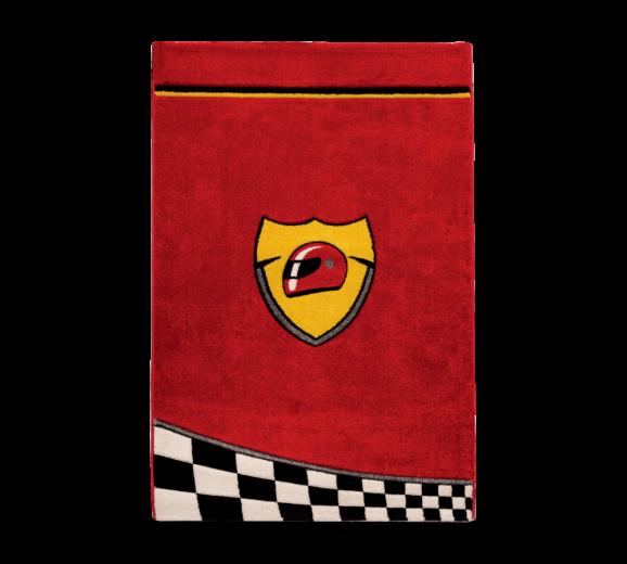 Covor pentru copii Champion Red, 133 x 190 cm