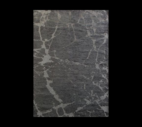 Covor pentru copii Dark Metal Grey, 135 x 200 cm