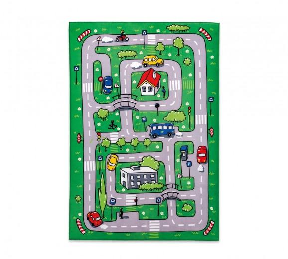 """Covor pentru copii din PE """"Soft Traffic"""" Multicolour, 100 x 150 cm"""