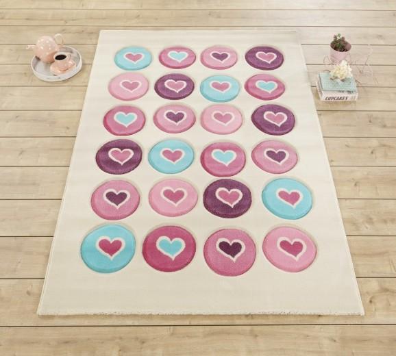 Covor pentru copii Love Multicolour, 133 x 190 cm