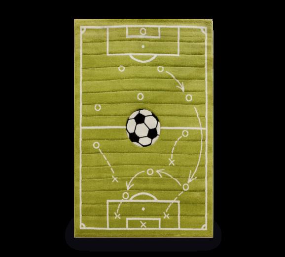 Covor pentru copii Tactics Green, 133 x 190 cm