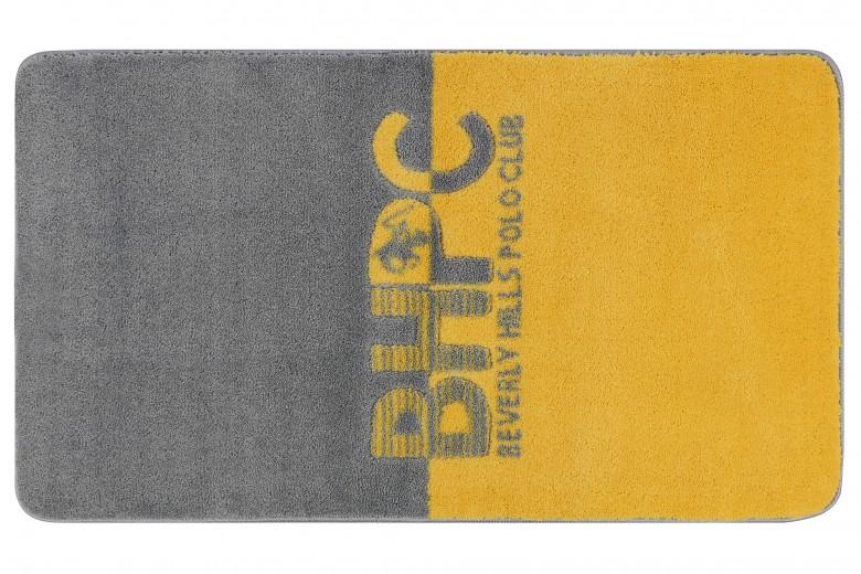 Covoras pentru baie Beverly Hills Polo Club 315 Galben / Gri, 57 x 100 cm