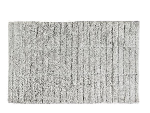Covoras pentru baie din bumbac Tiles Natural, 80 x 50 cm, Zone Denmark