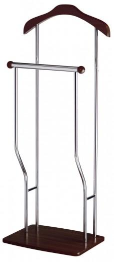 Cuier din metal Greg Wenge / Crom l45xA27xH107 cm
