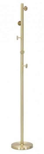Cuier metalic Glamy Auriu, Ø30xH185 cm