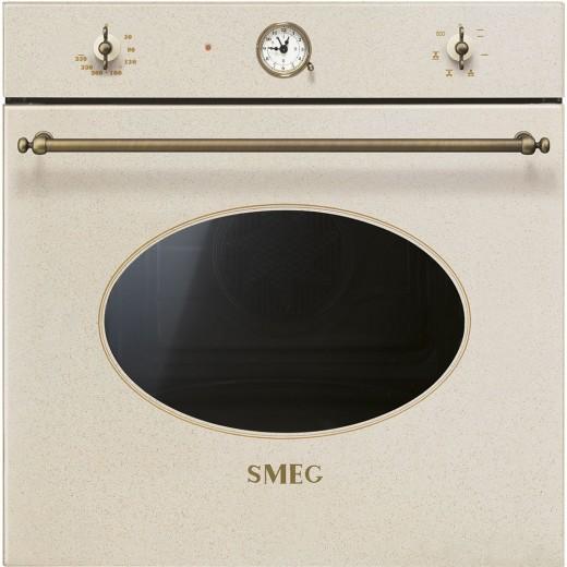Cuptor electric incorporabil SF800, Alama, 60 cm, Coloniale, SMEG