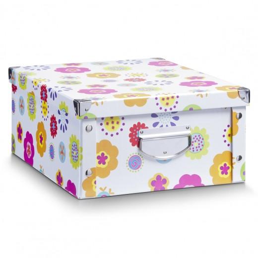 Cutie decorativa pentru depozitare, din carton, Kids Multicolor, L40xl33xH17 cm