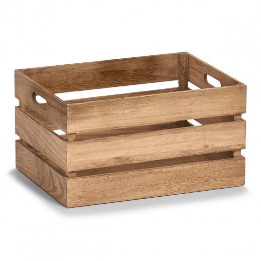 Cutie pentru depozitare din lemn, Vintage Large Maro, L39xl29xH21 cm