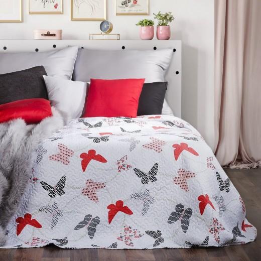 Cuvertura pat copii Albina Multicolour, 170 x 210 cm